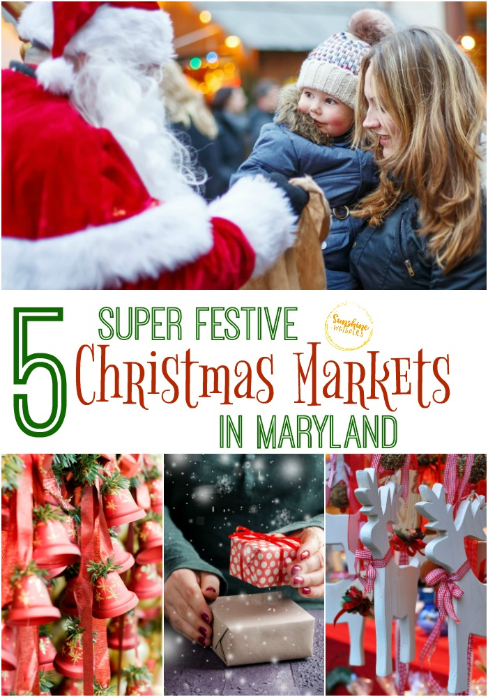 christmas markets in maryland