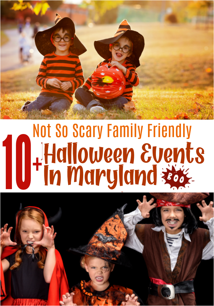 halloween events for kids in maryland