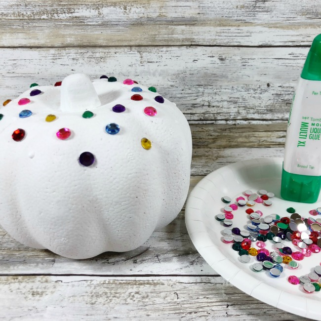 dollar store pumpkin crafts for kids