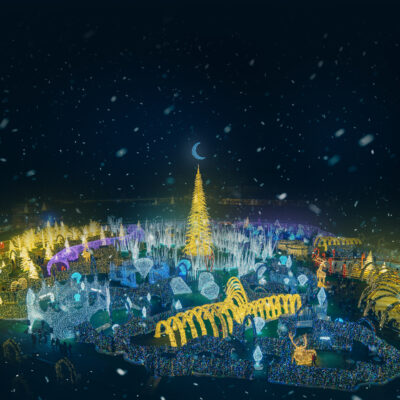 Enchant Christmas Presents The World's Largest Christmas Light Maze and Market