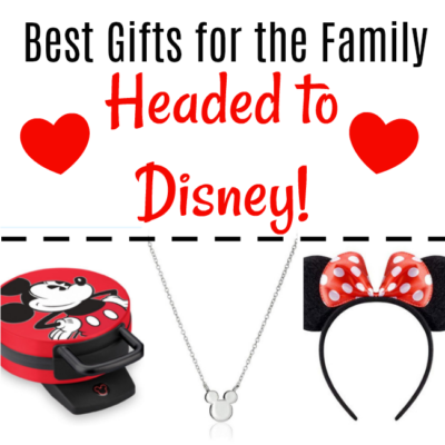 Disney Gift Guide: Gifts For The Family Who Is Headed To Disney!