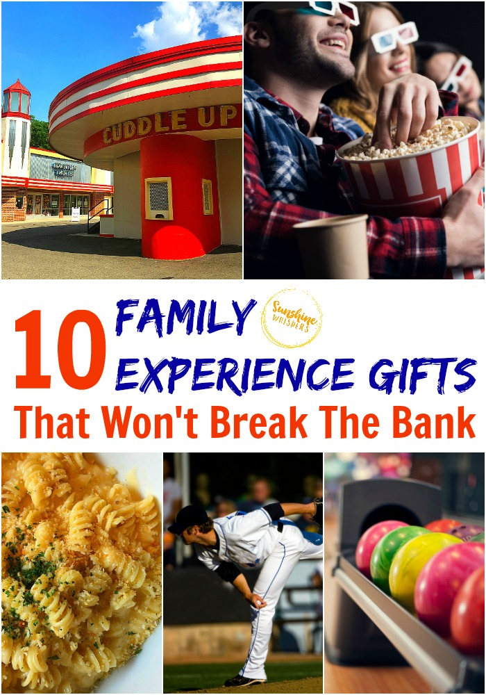 family experience gifts