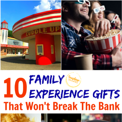 10 Family Experience Gifts That Won't Break The Bank