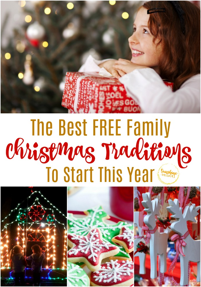 free family christmas traditions
