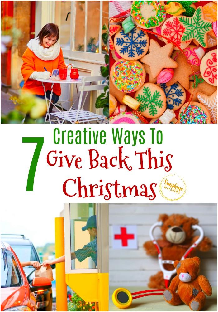 give back this christmas