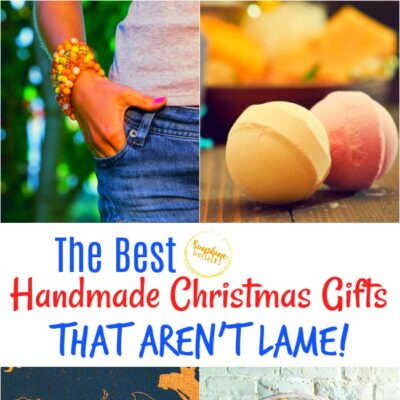 The Best Handmade Christmas Gifts That Aren't Lame
