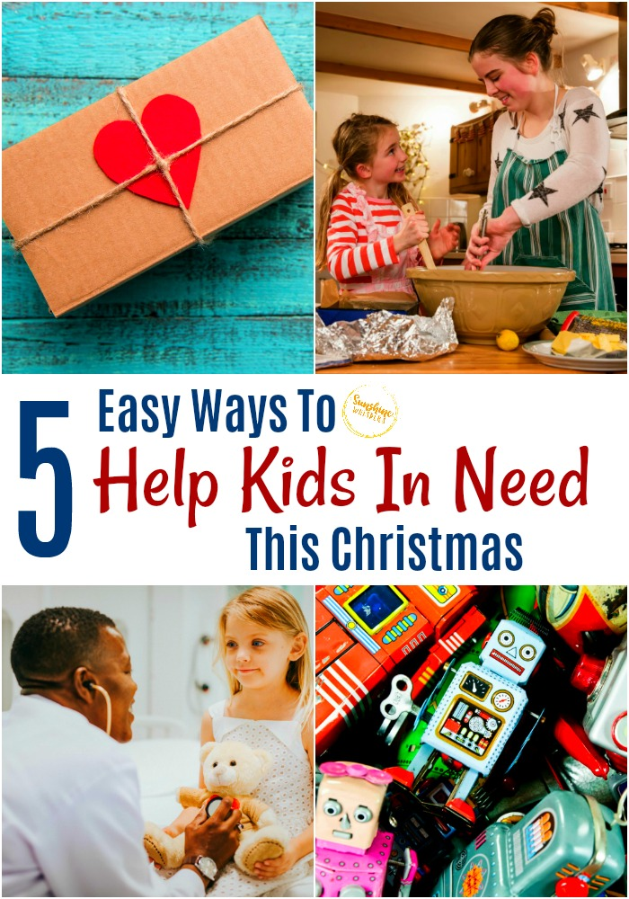 help kids in need this christmas
