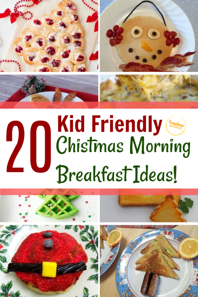 kid friendly christmas morning breakfast ideas