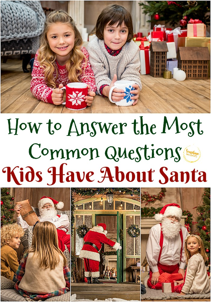 questions kids have about santa