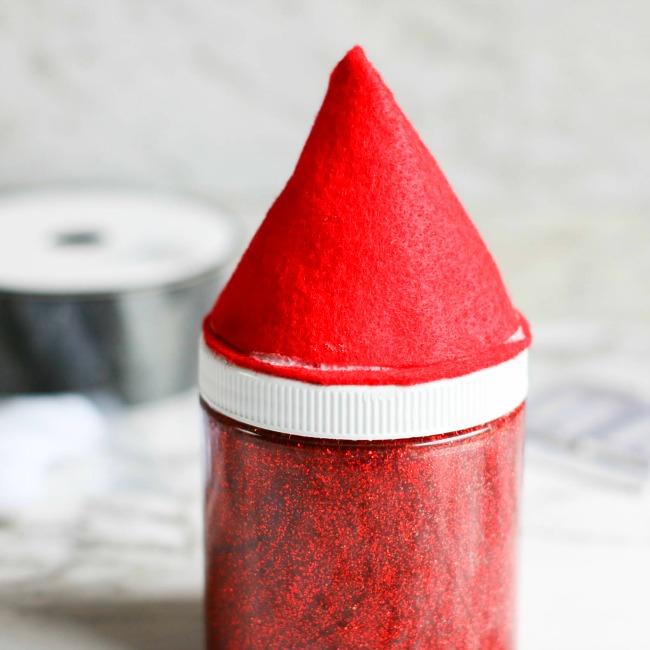 Santa Belly Slime Jar