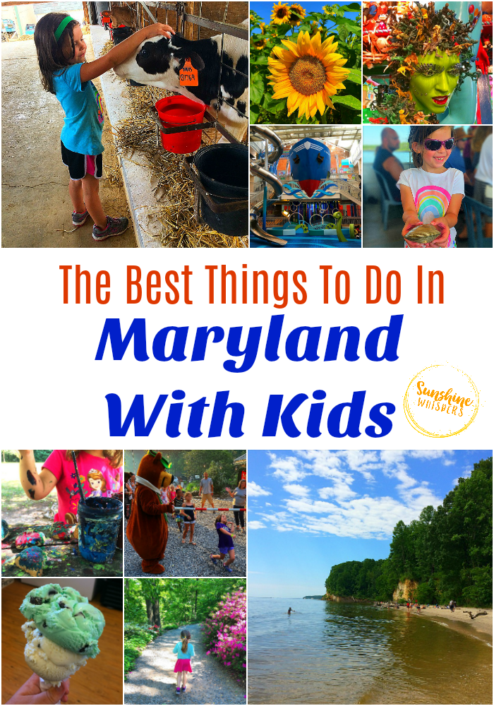 things to do in Maryland with kids