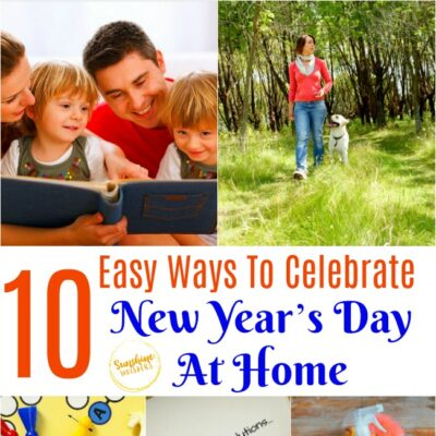 Celebrate New Year's Day At Home