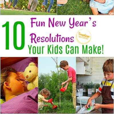 fun new year's resolutions your kids can make