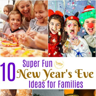 new year's eve ideas for families