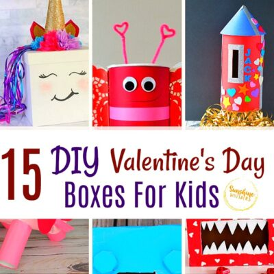 15 DIY Valentine's Day Boxes For Kids