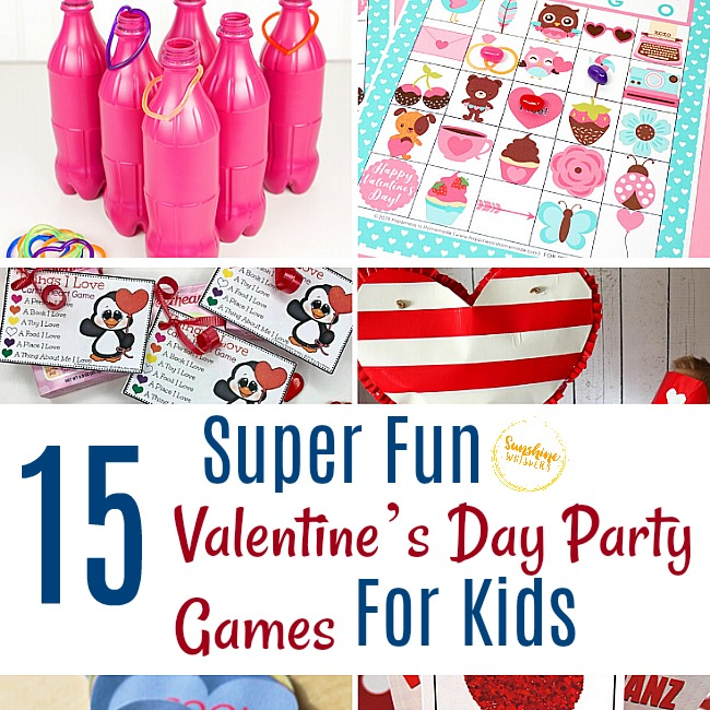 15 Fun Valentine's Day Party Games for Kids