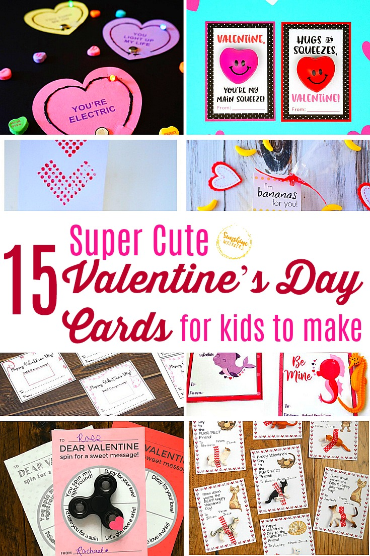 Valentine's Day Cards for Kids to Make