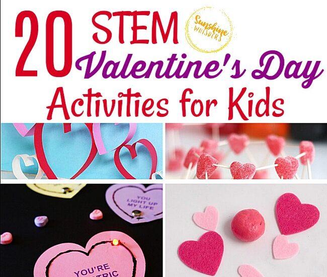 STEM Valentine's Day Activities for Kids