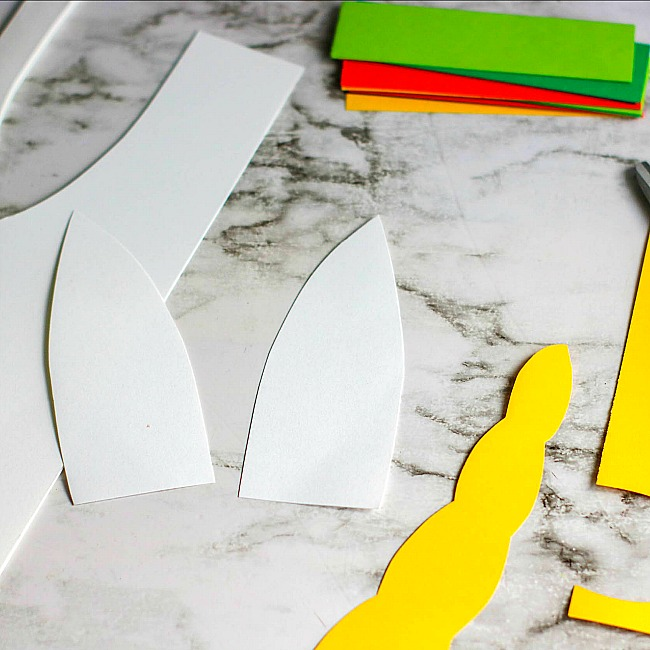 Rainbow unicorn paper plate craft