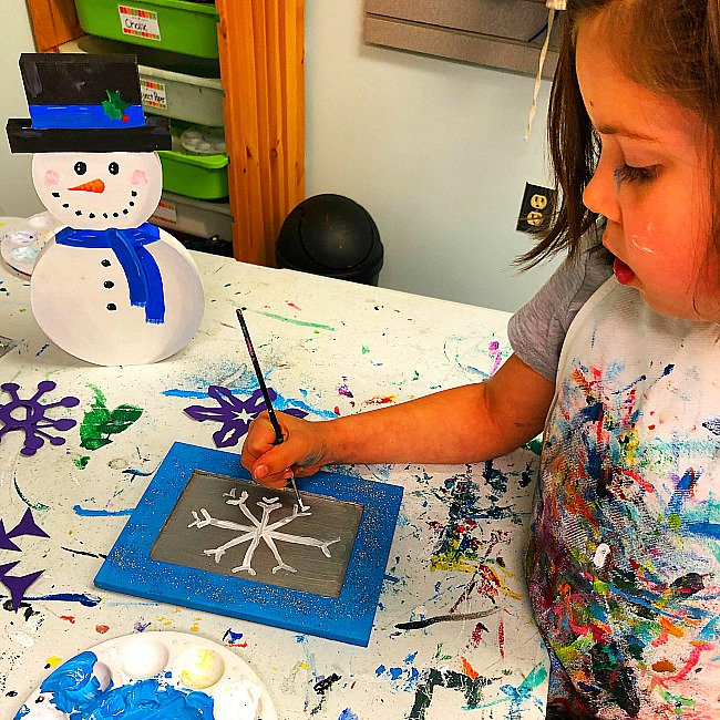 kid friendly drop in art places in Maryland