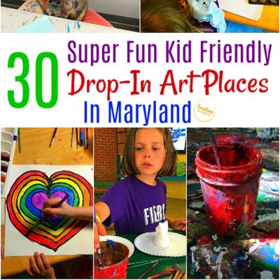30+ Super Fun Kid Friendly Drop-In Art Places In Maryland