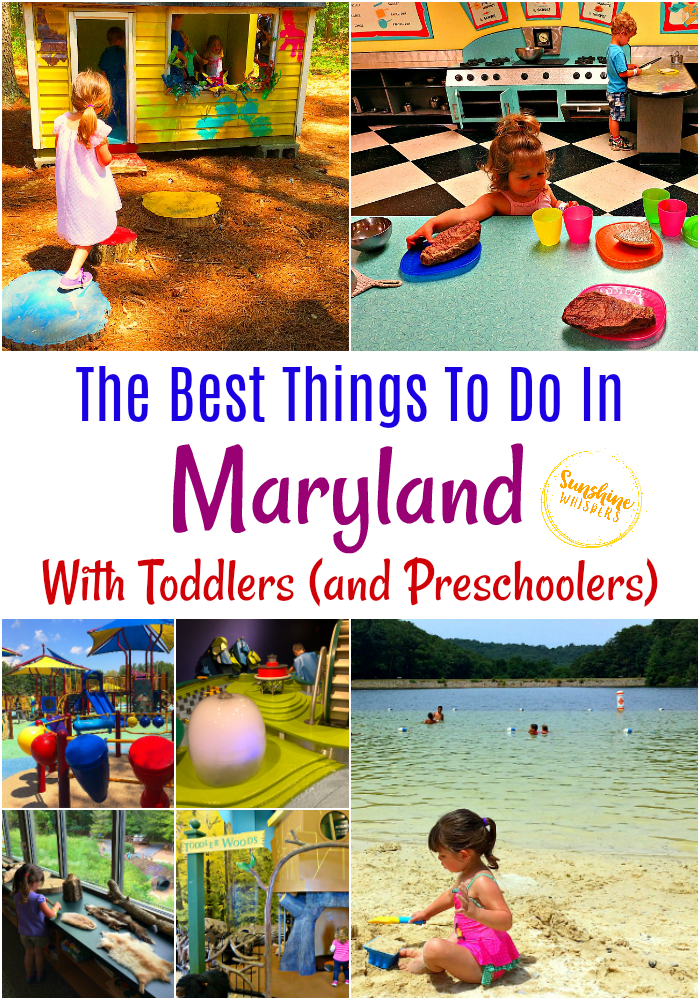 things to do in maryland with toddlers
