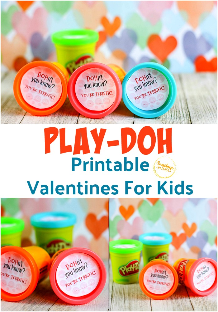 play doh printable valentines for kids