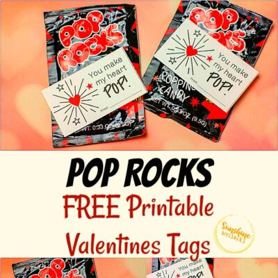 Pop Rocks FREE Printable Valentines Tags