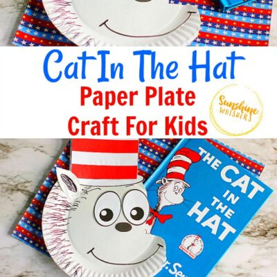 Cat In The Hat Paper Plate Craft For Kids