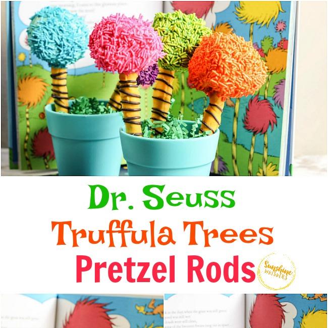 Truffula Trees Pretzel Rods