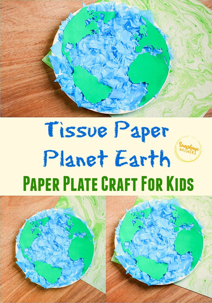 Planet Earth Paper Plate Craft For Kids