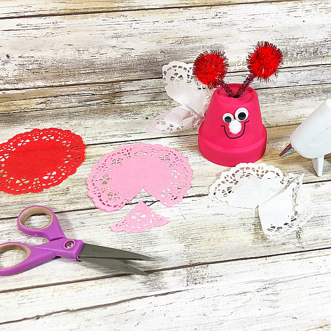 Clay Love Bug Craft for Kids