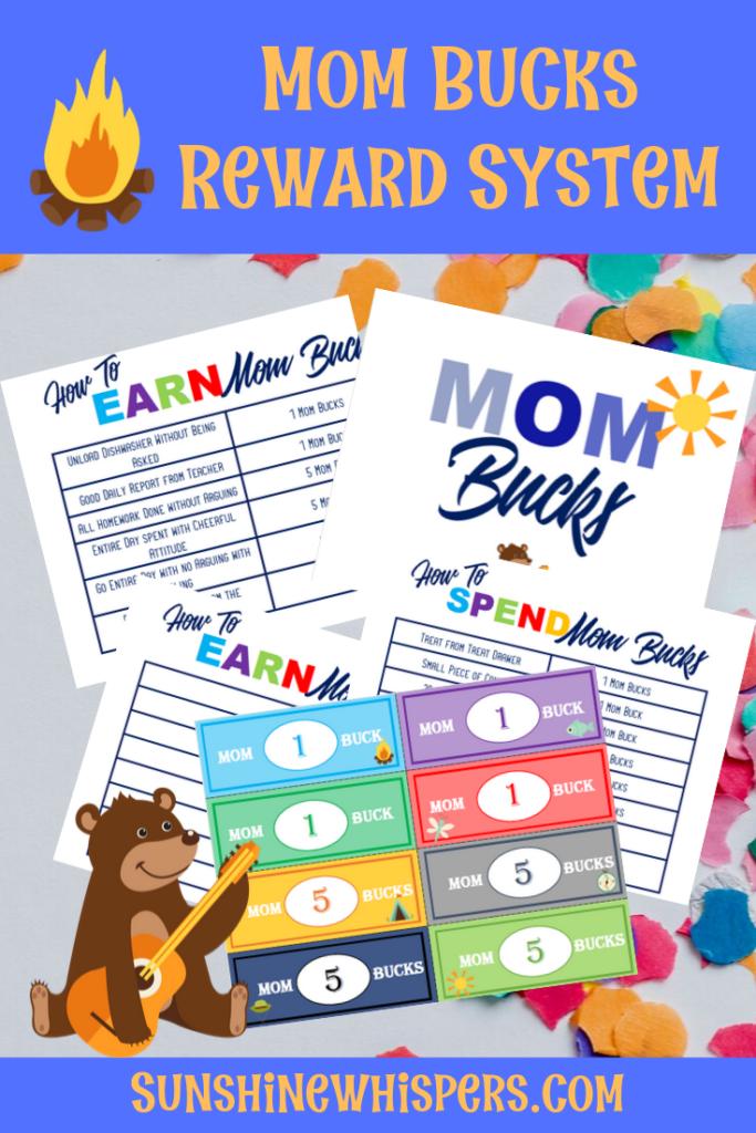 Mom Bucks FREE Printable Pack