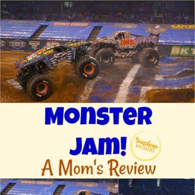 Monster Jam: A Mom's Review