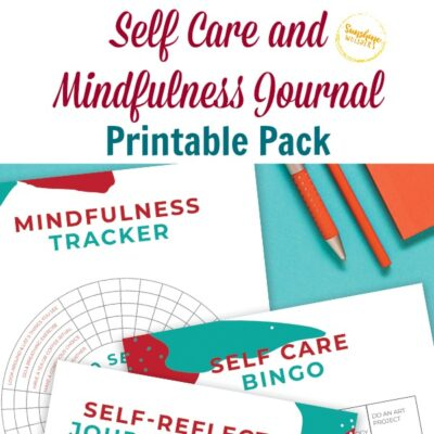 Self Care and Mindfulness Journal Printable Pack