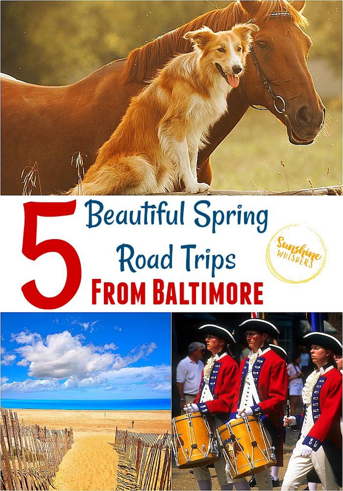 baltimore spring road trips