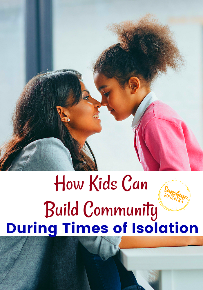 build community during isolation