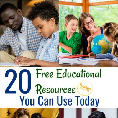 20 Free Educational Resources You Can Use Today