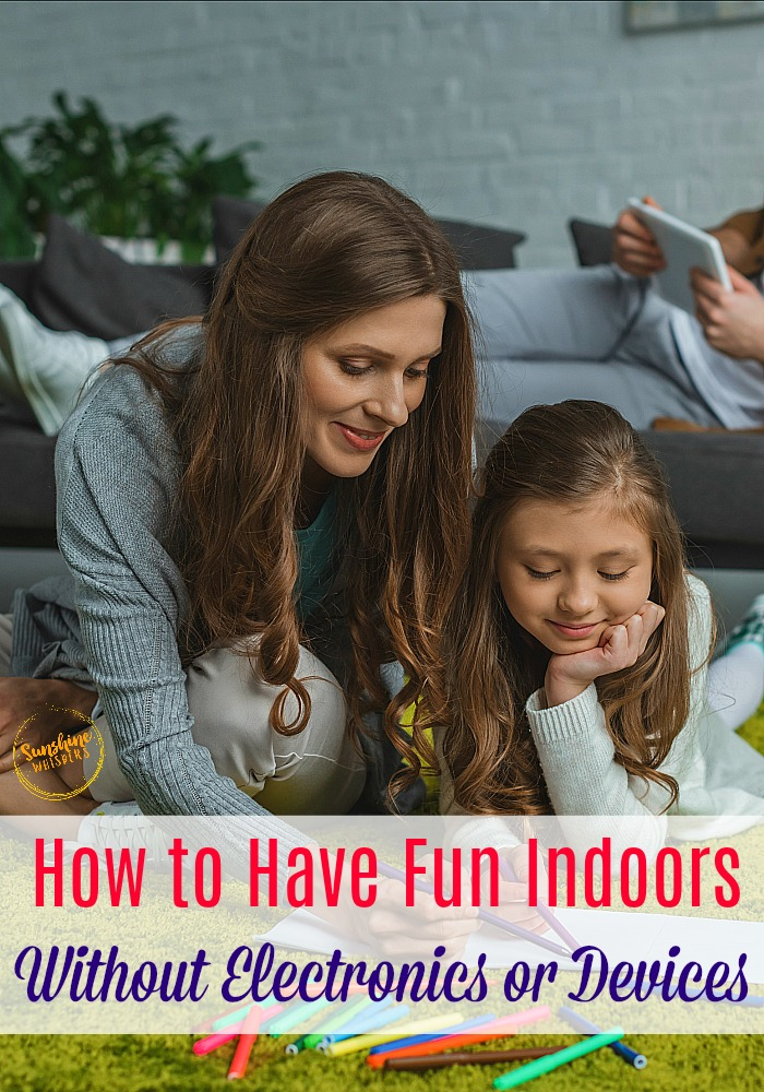 fun indoors without electronics