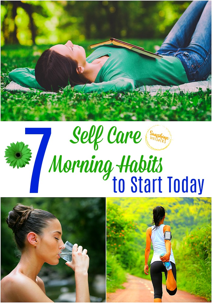 self care morning habits