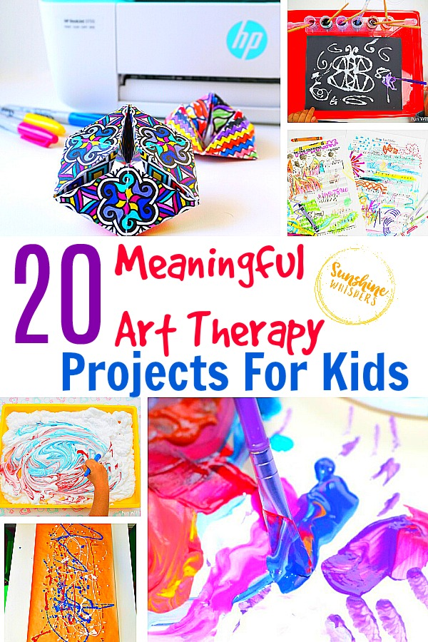 20 Meaningful Art Therapy Projects For Kids