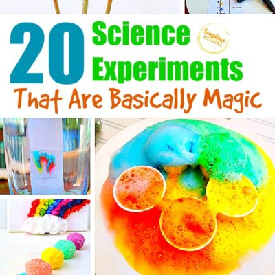 20 Science Experiments That Are Basically Magic