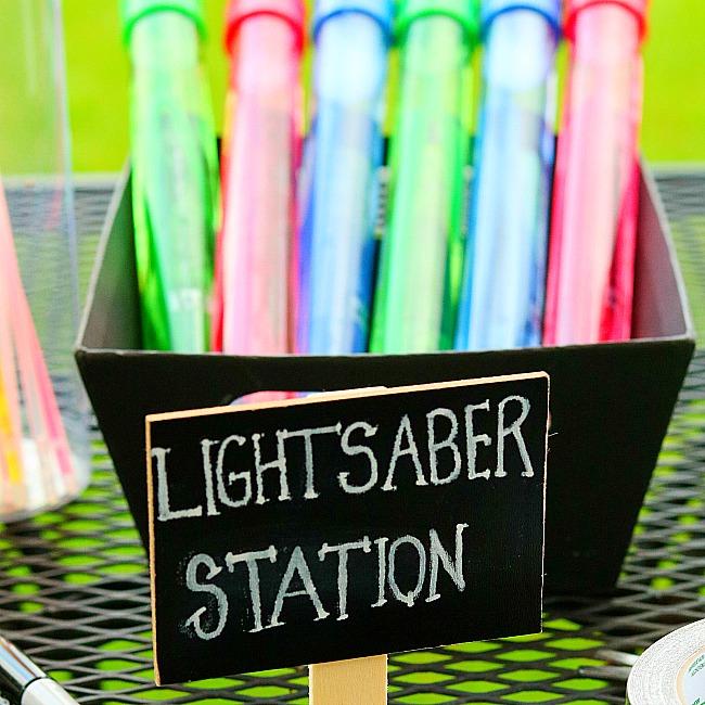 DIY Glow In The Dark Lightsaber Craft For Kids