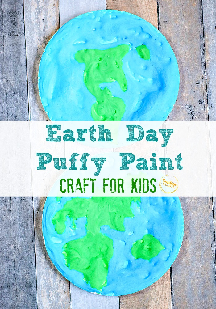 Earth Day Puffy Paint