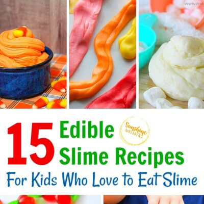 15 Edible Slime Recipes for Kids Who Love to Eat Slime