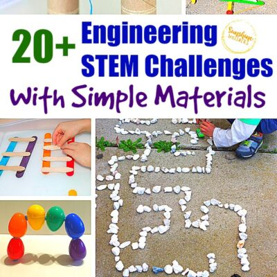 20+ Engineering STEM Challenges With Simple Materials