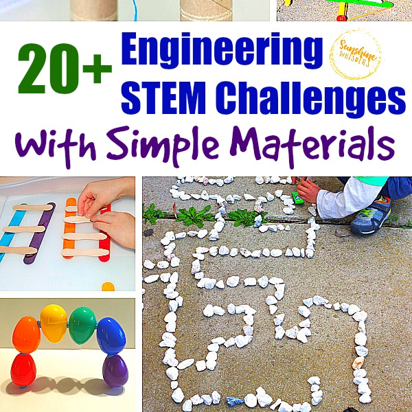 Engineering STEM Challenges with Simple Materials
