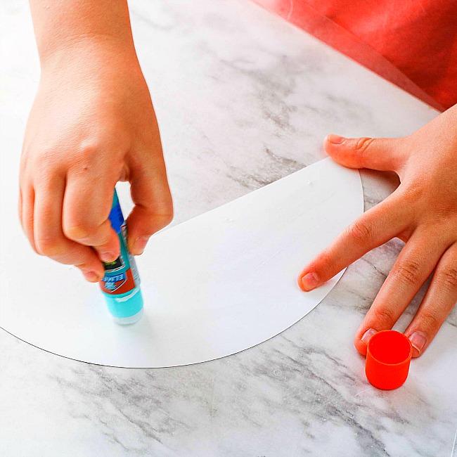 Princess Leia Paper Plate Craft For Kids