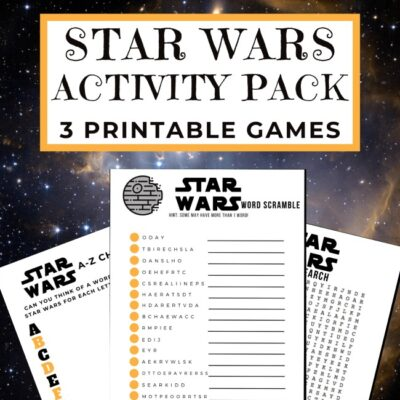Star Wars Activity Pack For Kids (FREE Printable)
