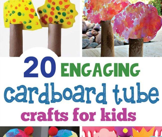 cardboard tube crafts for kids